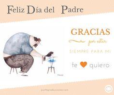 ¡FELIZ DÍA DEL PADRE!  Por ser quien hace hasta lo imposible por que sus hijos sean felices... ¡Gracias Papá!  #DíadelPadre #GraciasPapá