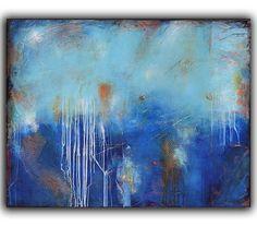 PAINTING original large 36x48 canvas abstract ART by erinashleyart