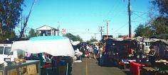 El Sobreruedas. This is a farmer's market that is held in Mexicali.  Sobrereudas means over wheels. Farmer's market on wheels.