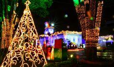 Decoração de Natal em São José dos Campos.