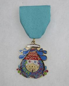 The U.S. Masters Spring Nationals Swim Competition will award this 2015 Fiesta Medal to its gold medal sponsors. Photo: JUANITO M GARZA, By Juanito Garza, San Antonio Express-News / San Antonio Express-News