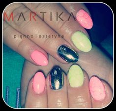 by Marta Rybicka, Double Tap if you like #mani #nailart #nails Find more Inspiration at www.indigo-nails.com