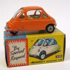 Lot 305 – Corgi Toys 233 Heinkel Economy – Vintage Toys and Militaria 08 Jan 2014 http://www.candtauctions.co.uk/
