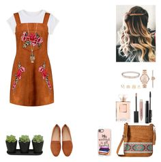 """""""Daily Style #26"""" by raiseethesizzler ❤ liked on Polyvore featuring WithChic, M&F Western, Casetify, Charlotte Russe, MAC Cosmetics, Michael Kors, Cartier, Burberry, Chanel and Boohoo"""