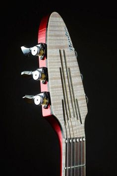 Ingenious DIY headless guitar tuning solution. Guitars