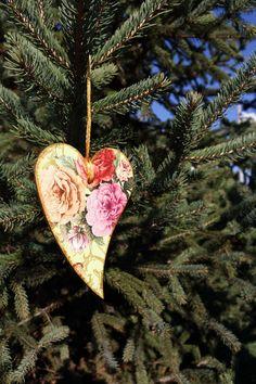 Vintage Style #Christmas Tree #Ornament  by ElvishThings