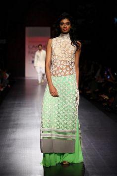 lovely summer!!! Manish Malhotra Spring Collection At Lakme Fashion Week LFW Summer Resort 2013-9