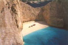 Smuggler's Cove Zakynthos, Greece - Have been swimming in this cove - feels like a lifetime ago.