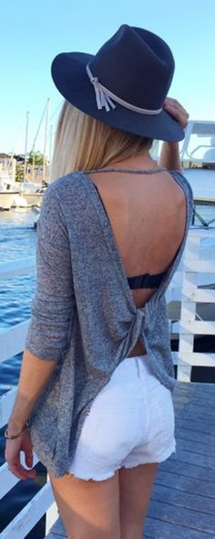 It's possible I'm going overboard with the backlessness, but I LOVE the idea of a backless sweater. MORE details on shein.com