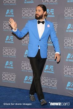 Jared Leto attends The 20th Annual Critics' Choice Movie Awards at Hollywood Palladium on January 15, 2015 in Los Angeles, California. (Photo by Taylor Hill/Getty Images)