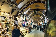 Turkey's most spectacular souvenir space, the Grand Bazaar in Istanbul