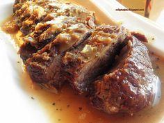 kark wołowy pieczony w piwie Steak, Cooking, Book, Kitchen, Steaks, Book Illustrations, Books, Brewing, Cuisine