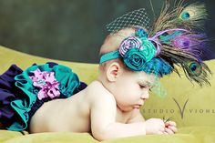 How adorable!!  The Royal Collection -' Princess Daisy's Peacock ... by MariBabies on Etsy