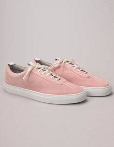 These dusty pink lotus suede sneakers have a sleek, clean style that has been inspired by men's tennis shoes of the Free UK delivery on orders over Pink Lotus, Summer Essentials, Suede Sneakers, Dusty Pink, Trainers, Vans, Footwear, Shoes, Dressing