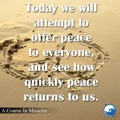 Get The Course In Miracles Workbook Lessons For Free Fear Of Love, Peace And Love, Miracle Quotes, A Course In Miracles, Positive Inspiration, Book Study, Day Of My Life, Good Advice, Inner Peace