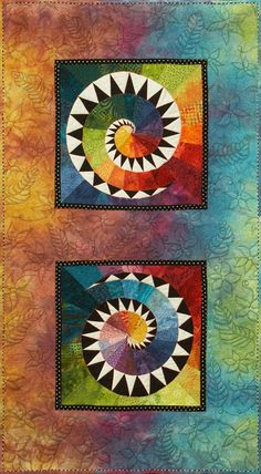 Cosmic in Nature by Joann Belling | art quilt