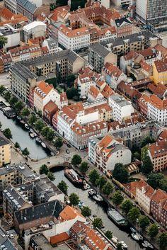 Copenhagen City, Copenhagen Denmark, Urban Photography, Fine Art Photography, Denmark Landscape, Urban Design, Aerial View, Wander, Paris Skyline