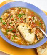 Cannellini Bean & Mushroom Soup
