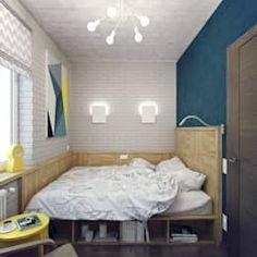 AuBergewohnlich Industriale Schlafzimmer Von Студия дизайна Марии Губиной