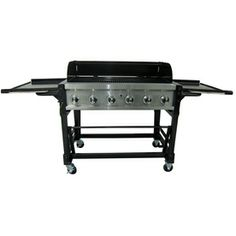 Master Forge 6 Burner 75000 Btu Liquid Propane Gas Grill