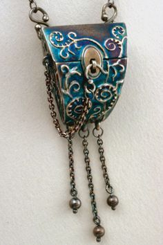 Terry Kovalcik Jewelry - Fiddlehead Box