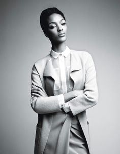 'Spare, Me' starring Joan Smalls and Jourdan Dunn. Photographed by Patrick Demarchelier, styled by Patrick Mackie.