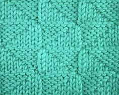 Knitting Galore: Saturday Stitch: Reversed Triangles - Love the stitches on this blog - Check it out!!