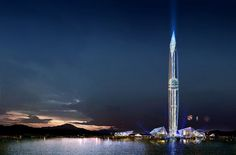 In Seoul, the capital city of South Korea, International GDS Architects Company is working on building the Tower Infinity, the first invisible tower in the world.