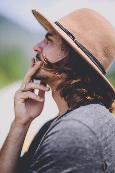 hat sweater tumblr style men hair beard