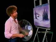 Bob Ross The Joy of Painting Season 4 Episode 1 Purple Splendor