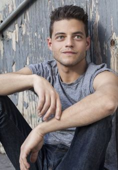 Rami Malek's photoshoot with the Riker Brothers in December 2013