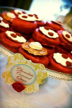 """Photo 54 of Princess / Birthday """"Beauty and the Beast Royal Ball Birthday Party"""" Ball Birthday Parties, 3rd Birthday, Birthday Party Themes, Birthday Ideas, Happy Birthday, Princess Aurora Party, Princess Tea Party, Princess Birthday, Chocolate Covered Oreos"""