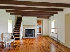 DOYLESTOWN – 4936 Curley Hill Road. Stone & clapboard farmhouse. Living room with random pine/oak floors, 2 fireplaces, built-in cabinets, exposed beams, beaded paneled wall. Solarium designed by Lynn Taylor & built by Jarret Vaughn. Galley kitchen, pine cabinetry, guest suite with full bath, outside entrance. Master with fireplace, pointed stone wall, random pine floors, mantled fireplace, soaking tub. Settler's cottage with fireplace, random pine floors, galley kitchen, bedroom, 2nd floor…