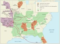 Indian Removal Map | Community Village Daily | Scoop.it