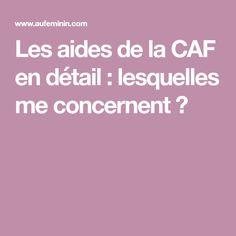 Les aides de la CAF en détail : lesquelles me concernent ?