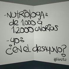 Nutrióloga. #dieta #EsDeGordos