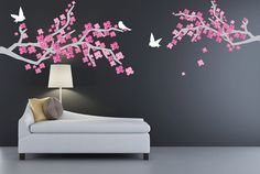 Cherry Blossom Branches SET Of TWO Extra Large by StudioWallDecals, $130.00