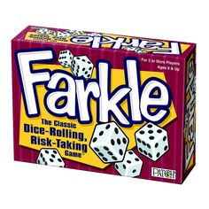 Farkle Dice Game from Creative Home & Gardening