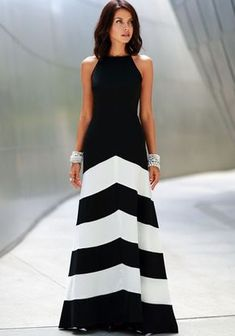 Cheap dresse, Buy Quality dress exchange directly from China dresses sew Suppliers: 2015 Vestidos De Festa New Fashion Casual Maxi Dresses Women Summer Sexy Print Black White Striped Long Dress Party Long Dress, Party Dresses, Prom Dress, Wedding Dresses, Evening Dresses, Summer Dresses, Long Dresses, Dress Long, Summer Outfits