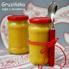 gruzińska zupa z soczewicy (2) Soup Recipes, Dessert Recipes, Cooking Recipes, Hot Sauce Bottles, Vegan Vegetarian, Sweet Tooth, Good Food, Food And Drink, Menu