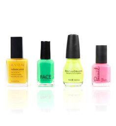 The nail-polish color for your zodiac sign.  Aquarius is neon - could this be more me???