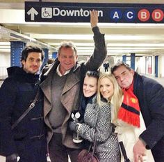 Cast of Downton Abbey visit NYC