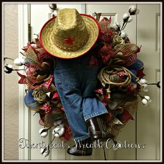 Texas, Texas, YEHAW! by Twentycoats Wreath Creations (2016)