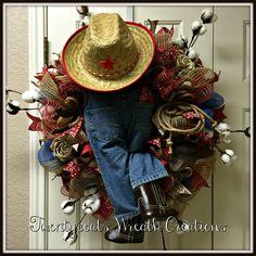 Texas, Texas, YEHAW! by Twentycoats Wreath Creations (2016)