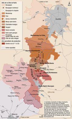 Bourgogne la côte de nuits : vignoble et vins - hachette-vins.com