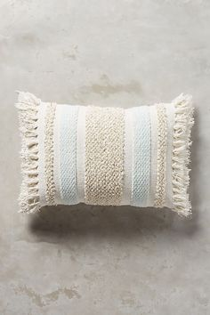 Moroccan wedding blanket cushion. Rectangle lumbar shape