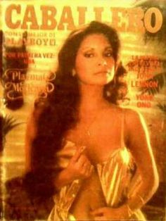 Playboy Mexico April 1981 Cover featured by Elda María López