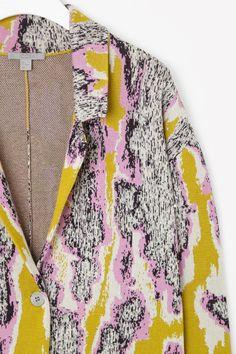 Cardigan with lapels/knit summer coats? COS