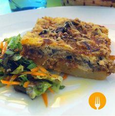 GRATINADO DE BERENJENAS. RECETA AL HORNO http://www.cocina-casera.com/2014/05/gratinado-berenjenas-horno-receta.html Vía: @cocinacasera1