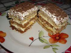 Dorothy Sweet: Prajitura cu foi si zahar ars Romanian Desserts, Creme Caramel, Tiramisu, Bacon, Deserts, Food And Drink, Cooking, Sweet, Ethnic Recipes